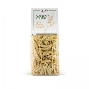 Pacco di pasta caserecce di semola di grano duro 500 gr