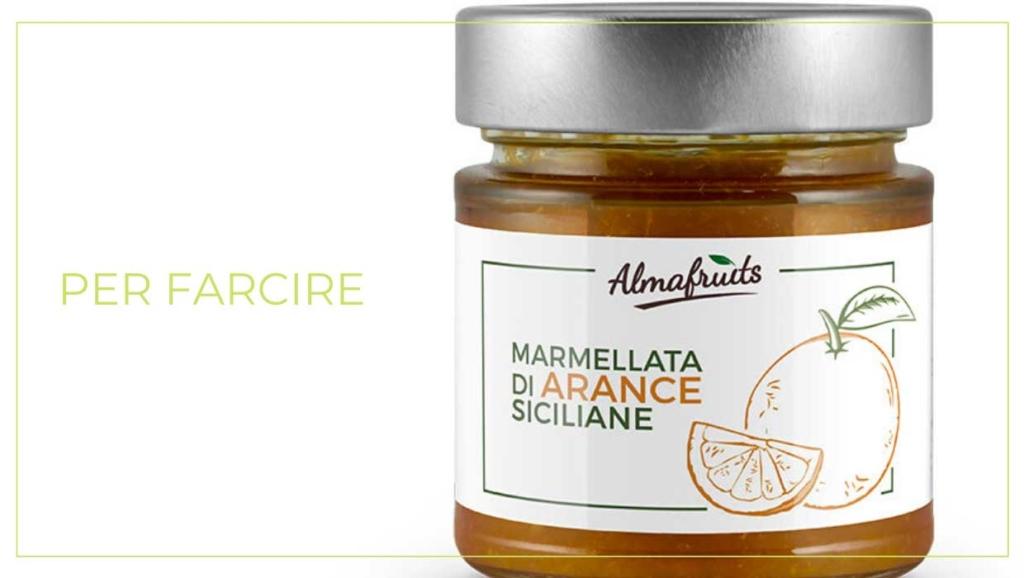 Pan D'Arancio - Marmellata di Arance Bio per farcire