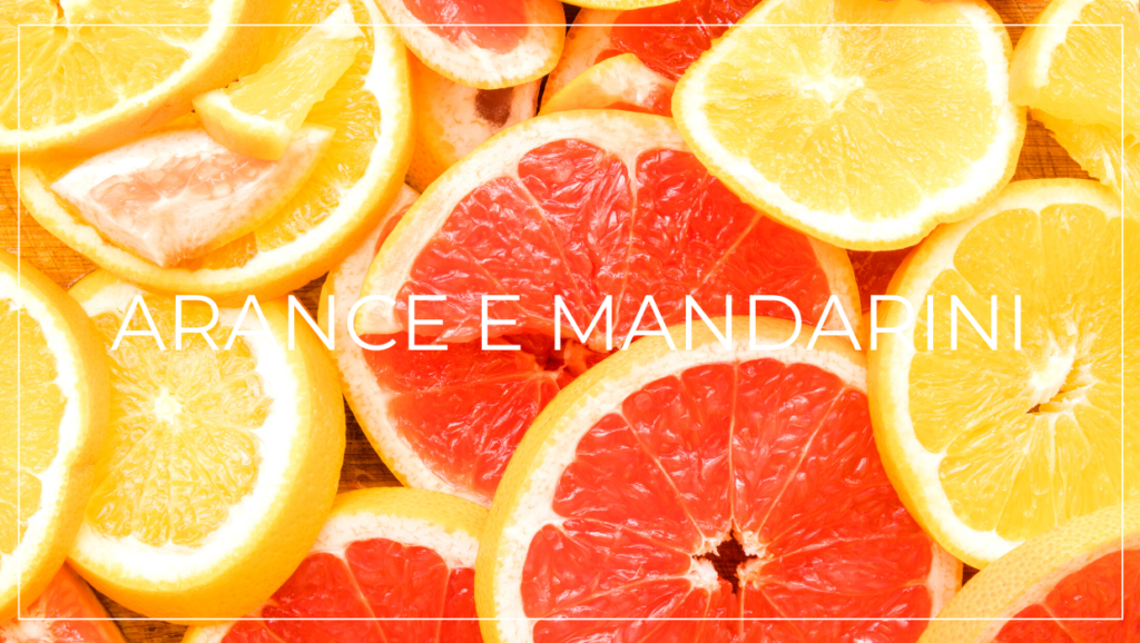 Alimenti contro la caduta dei capelli: arance e mandarini