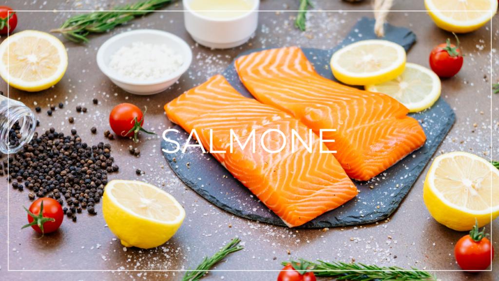 Alimenti contro la caduta dei capelli - salmone