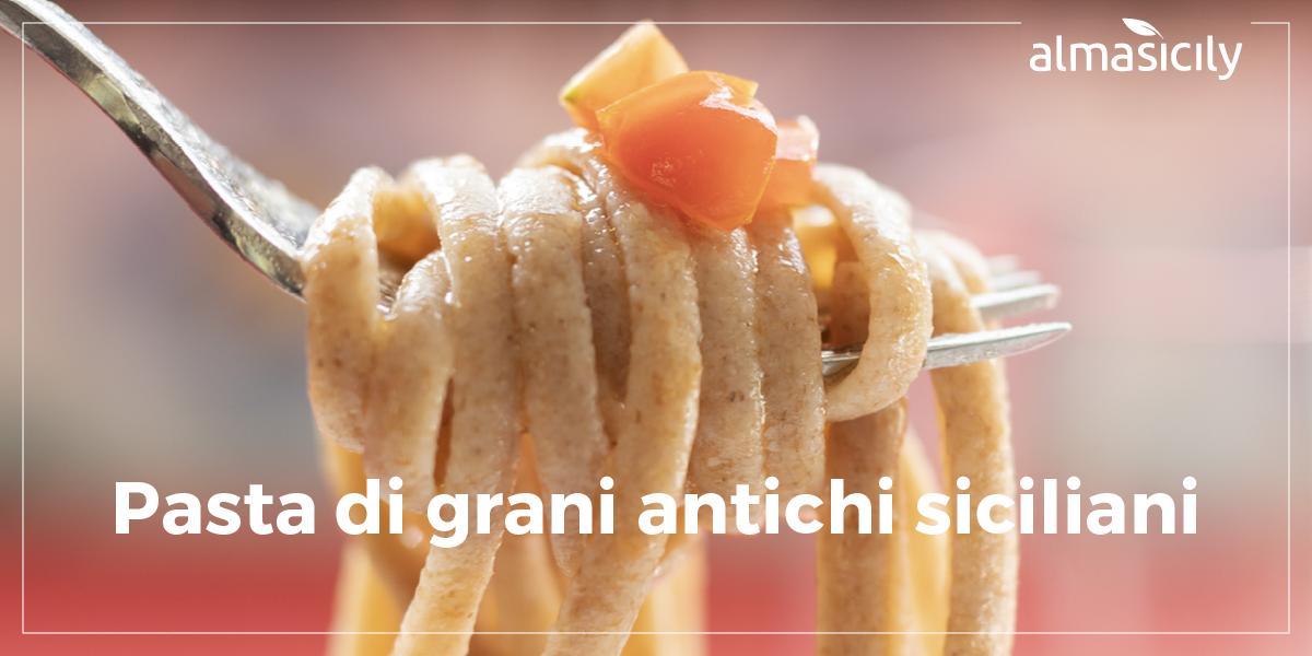 pasta prodotta con farina di grani antichi siciliani