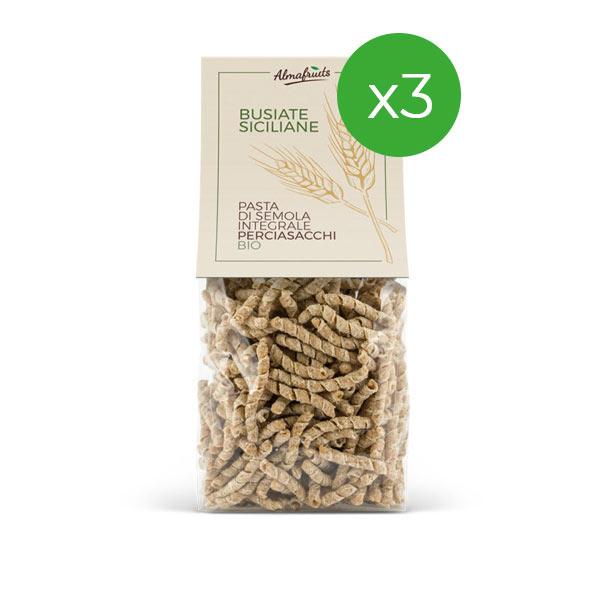 busiate pasta siciliana di grani antichi