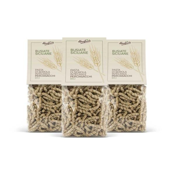 busiate siciliane pasta di grani antichi x3