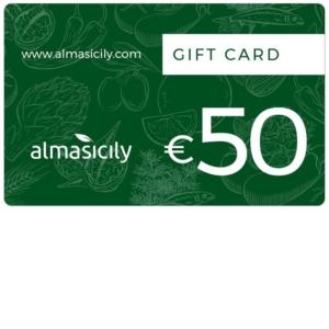 gift card prodotti siciliani 50 euro