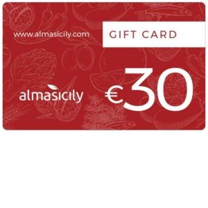 gift card prodotti siciliani 30 euro