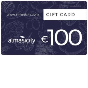 gift card prodotti siciliani 100 euro